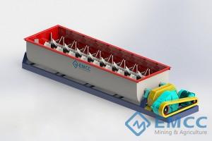 Double Shaft Fertilizer Mixer