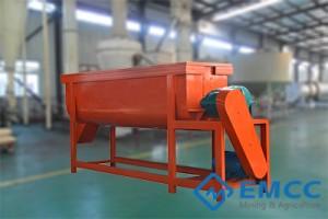 Factory Price Organic Fertilizer Pellet Machine - Horizontal Fertilizer Mixer – Exceed